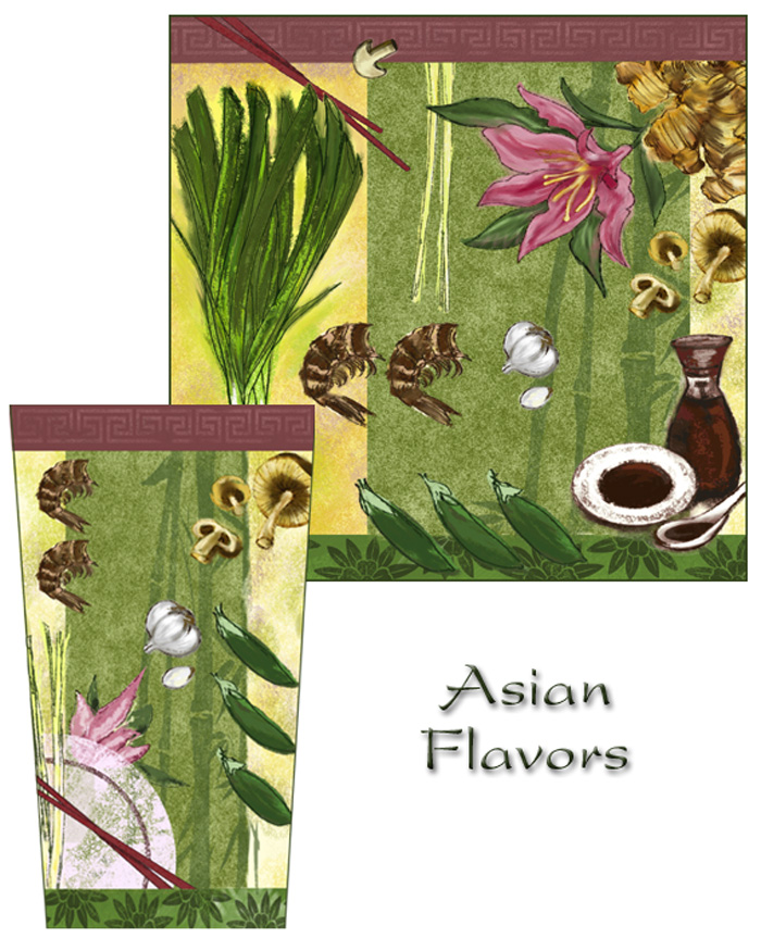 Asian Flavors Collection