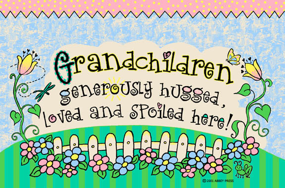 Grandchildren Door Mat