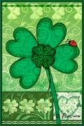 Shamrocks Flag