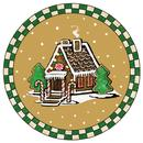 Gingerbread Series Plate