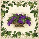 Tuscan Grapes Napkin