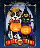 Trick or Treat Cat and Dog