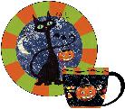 Candy Cat  Plate
